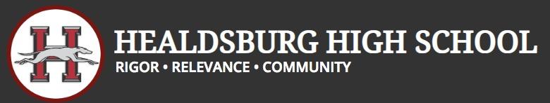 Healdsburg High School banner