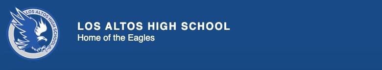 Los Altos High School banner