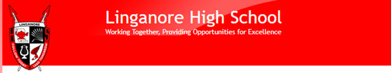 Linganore High School banner