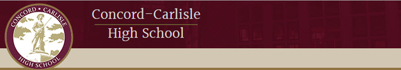 Concord-Carlisle Regional HS banner