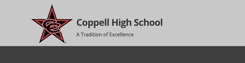 Coppell High School banner