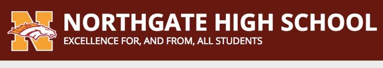 Northgate High School banner