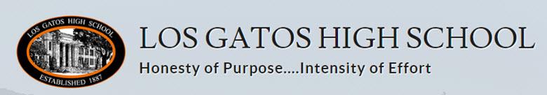 Los Gatos High School banner