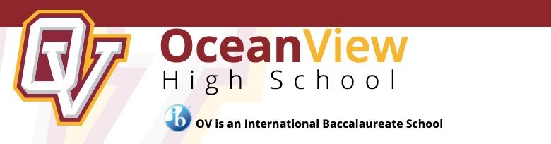 Ocean View High School banner