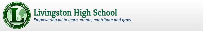 Livingston High School banner
