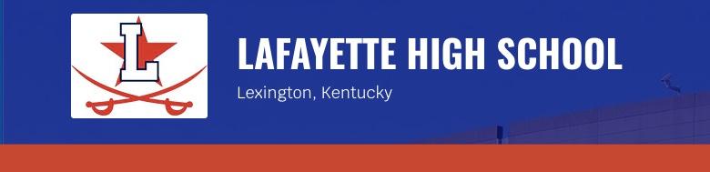 Lafayette Senior High School banner
