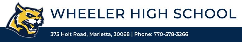 Wheeler High School banner