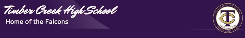 Timber Creek High School banner
