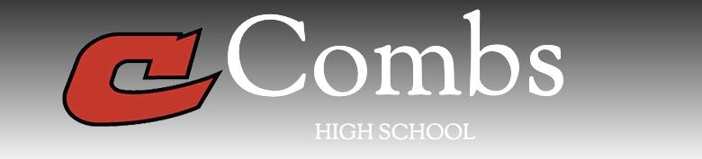 Combs High School banner