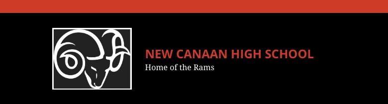 New Canaan High School banner