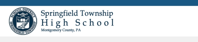 Springfield Township HS banner