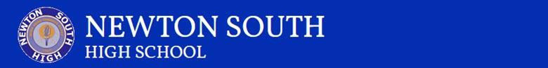 Newton South High School banner
