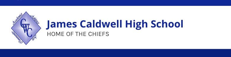James Caldwell High School banner