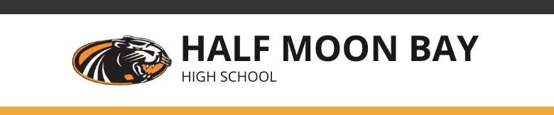 Half Moon Bay High School banner