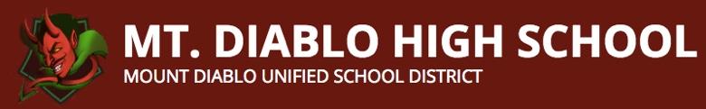 Mount Diablo High School banner