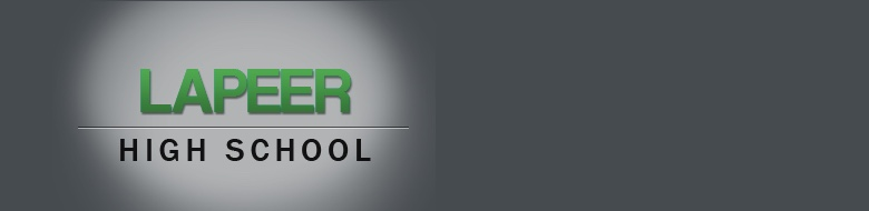Lapeer High School banner