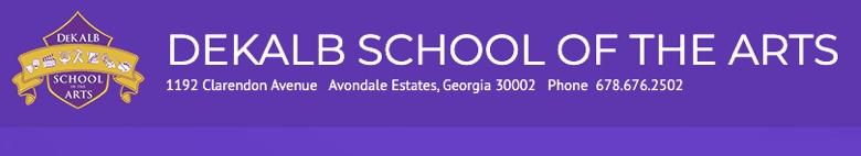 Dekalb School Of The Arts banner
