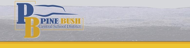 Pine Bush High School banner