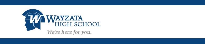 Wayzata High School banner