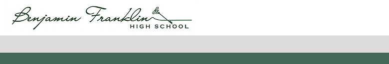 Benjamin Franklin High School banner