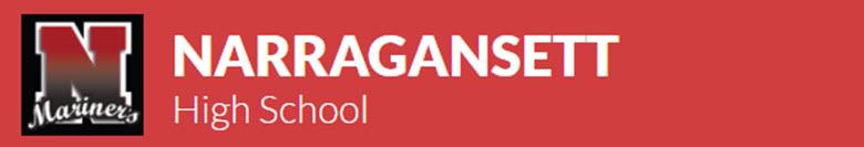 Narragansett High School banner