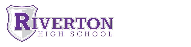 Riverton High School banner