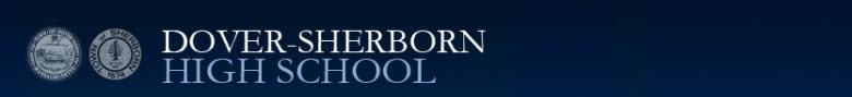 Dover-Sherborn High School banner