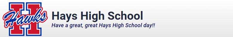 Hays High School banner