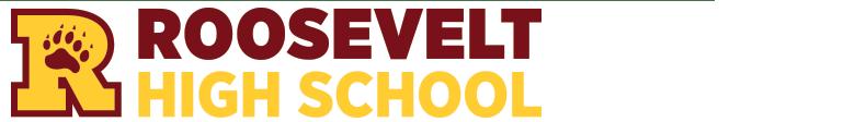 Roosevelt High School banner