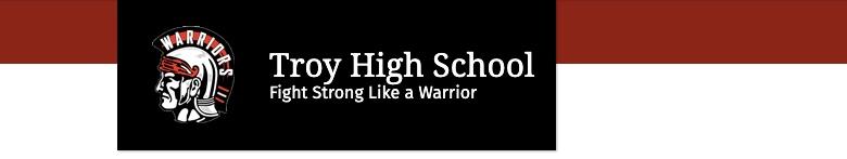 Troy High School banner
