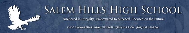 Salem Hills High School banner