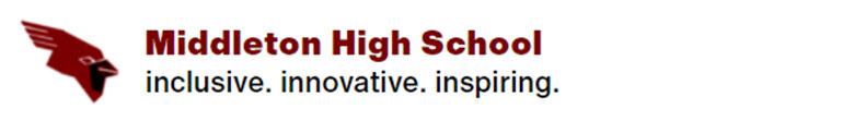 Middleton High School banner