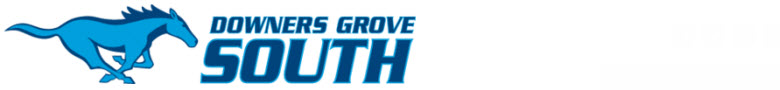 Downers Grove South High School banner