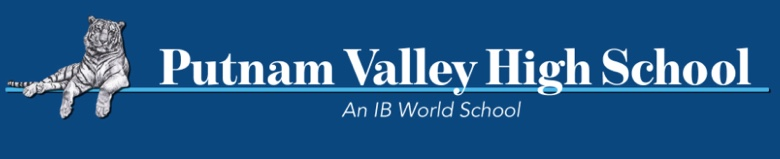 Putnam Valley High School banner